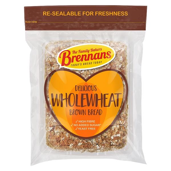 Brennans Wholewheat Brown Soda Bread