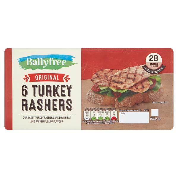 Ballyfree Turkey Rashers