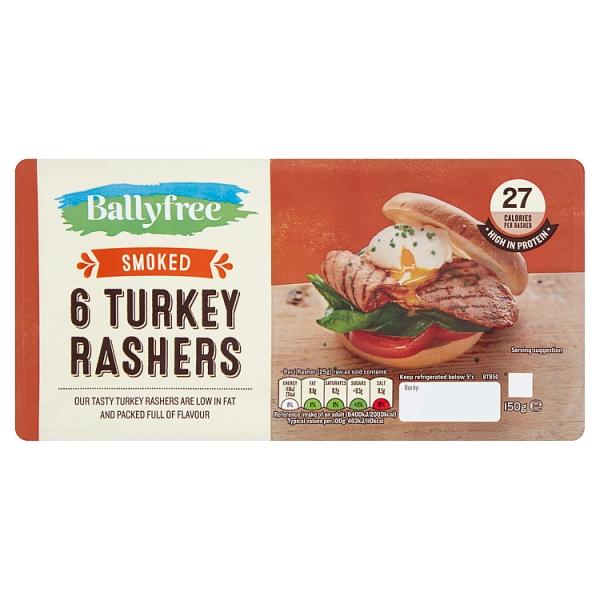 Ballyfree Smoked Turkey Rashers