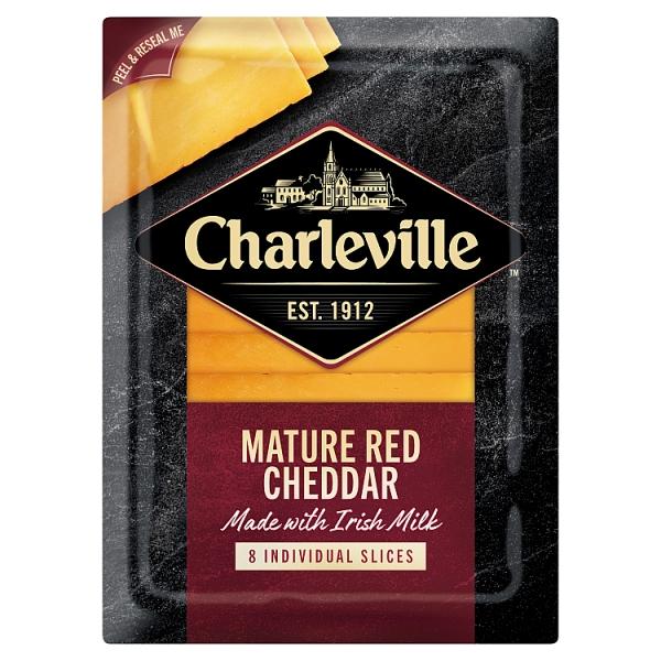 Charleville Mature Red Cheddar Slices