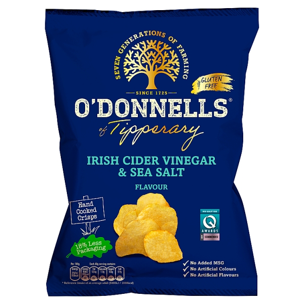 O'Donnells of Tipperary Irish Cider Vinegar & Sea Salt