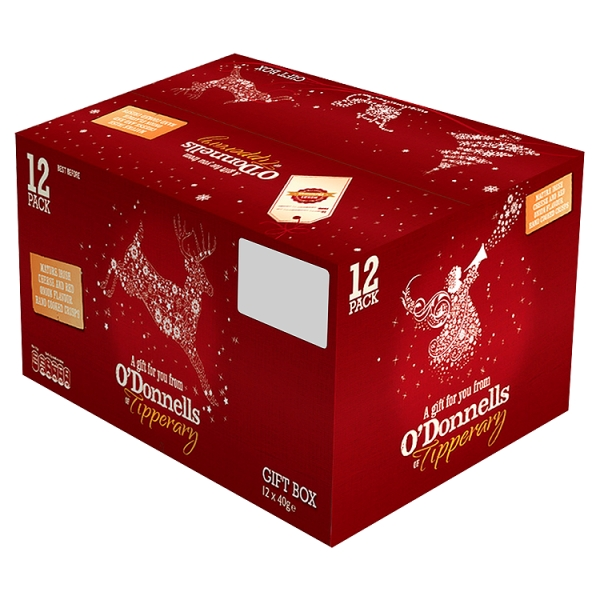 O Donnells Cheese Onion Christmas Box