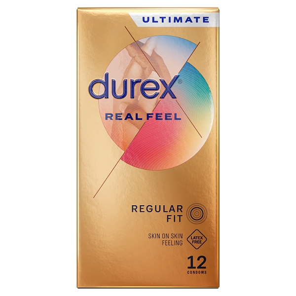 Durex Real Feel Condoms 12 Pack