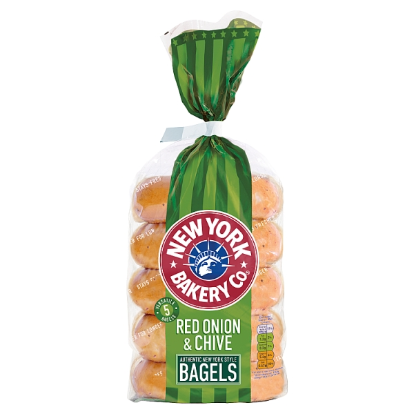 New York Onion & Chive Bagels