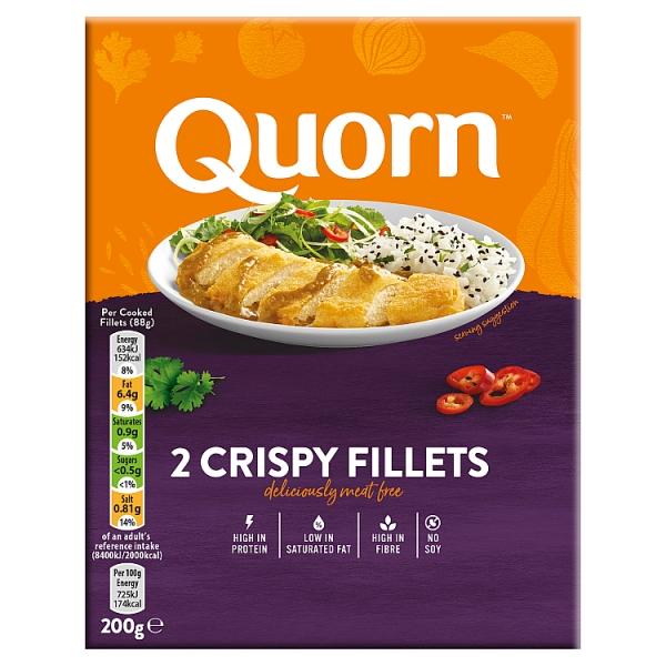 Quorn Crispy Fillets 2 Pack