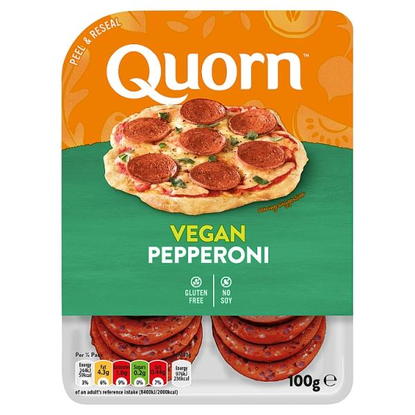 Quorn Vegan Pepperoni Slices