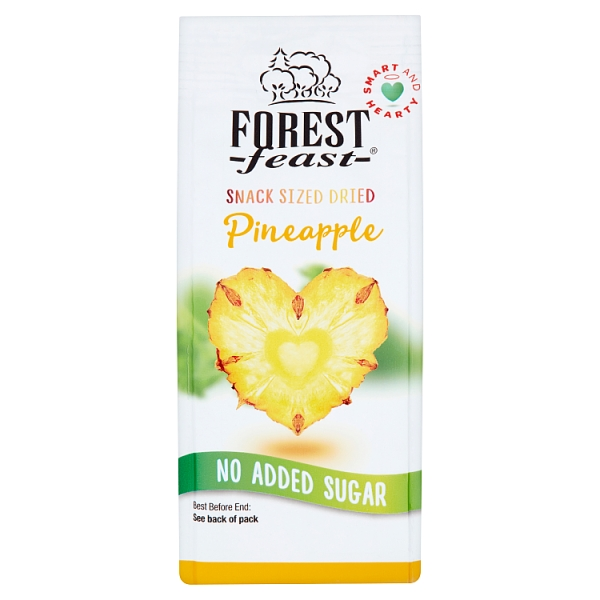 Forest Feast Snack Sized Dried Pineapple