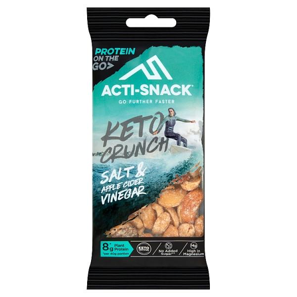 Acti Snack Keto Crunch Rock Salt Cider Vinegar Impulse