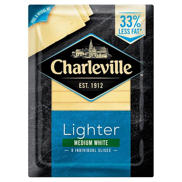 Charleville Lighter White Cheddar Slices