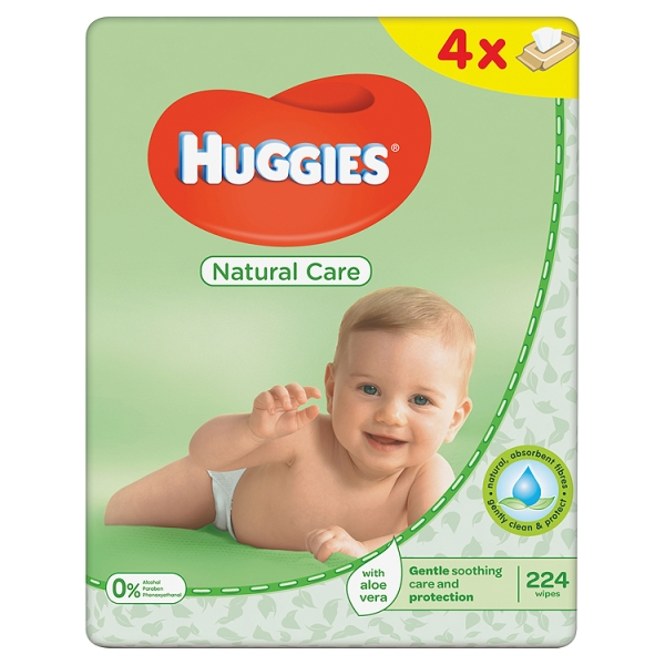 Huggies Natural Care Fragrance Free Baby Wipes Ingredients