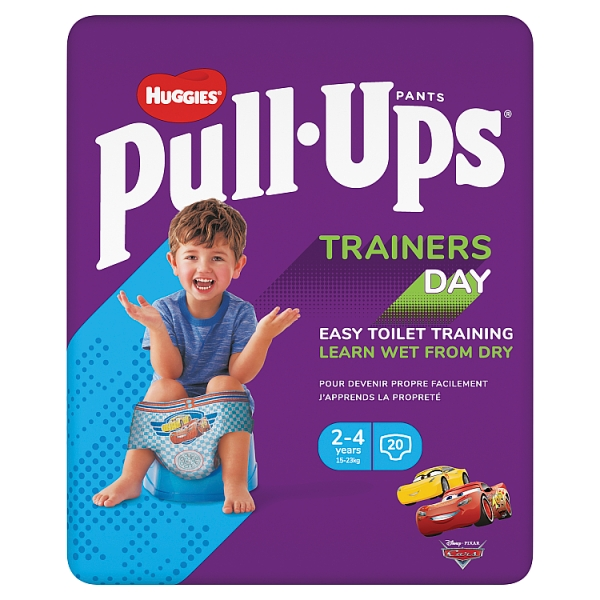 Huggies Pull-Ups Day Trainers Boy 2-4 Years