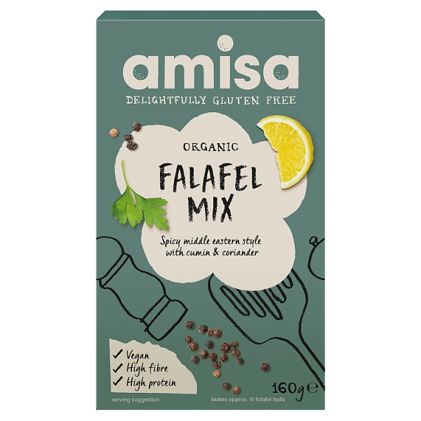 Amisa Organic Falafel Mix Gluten Free
