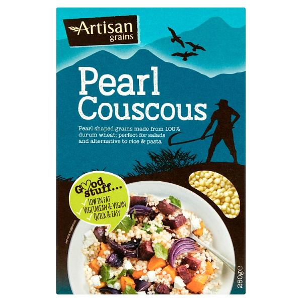 Artisan Pearl Couscous 250 Grams