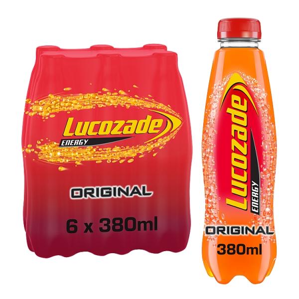 Lucozade Energy Original Bottles 6 Pack