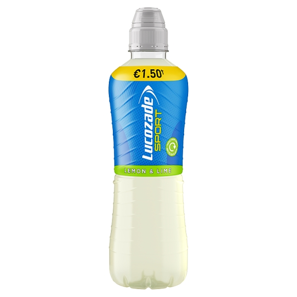 Lucozade Sport Lemon & Lime Pmp €1.50