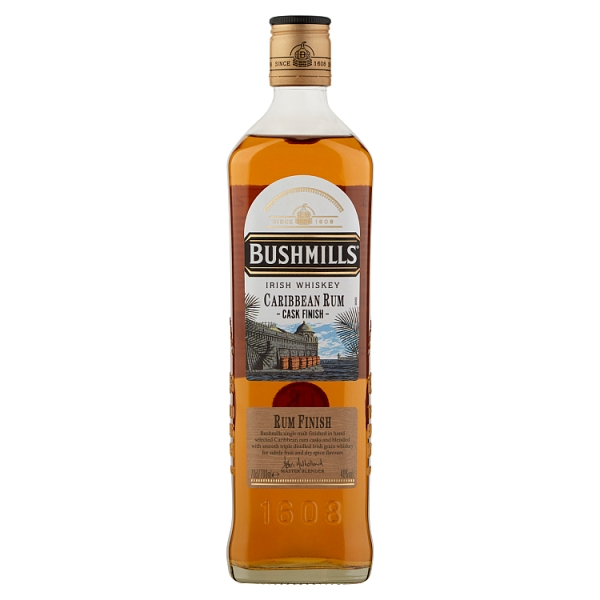 Bushmills Caribbean Rum Cask Finish Whiskey