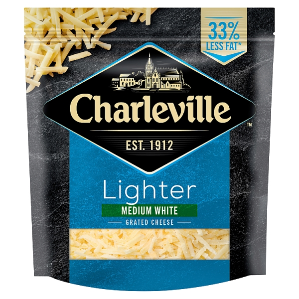 Charleville Lighter White Grated Cheese