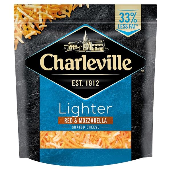 Charleville Lighter Red & White Grated Cheddar