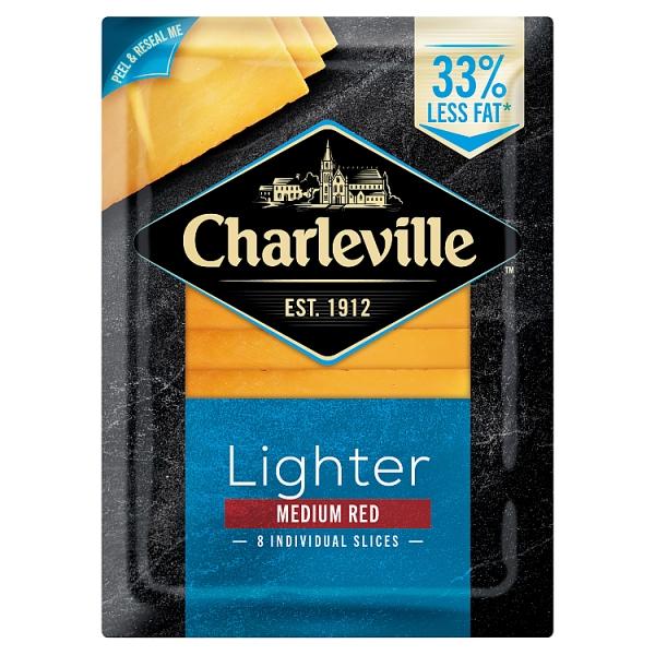 Charleville Lighter Red Cheddar Slices