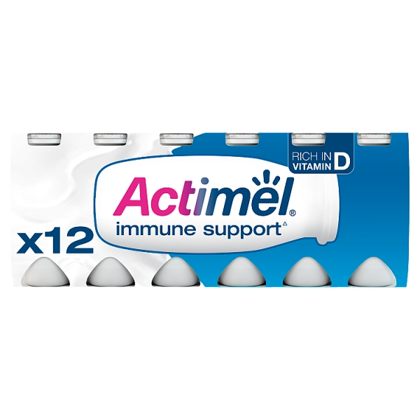 Danone Actimel Original Yogurt Drink 12 Pack
