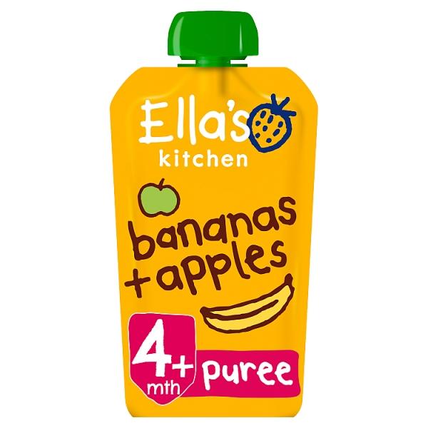 Ella's Kitchen Bananas & Apples 4+ Months