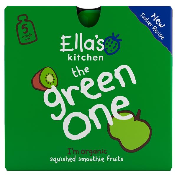 Ella's Kitchen The Green One Smoothie 5 Pack