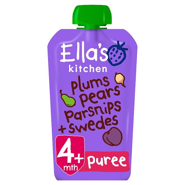 Ella's Kitchen Plums, Pears, Parsnips & Swedes 4+ Months