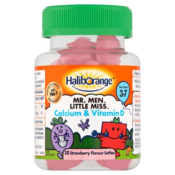Haliborange Mr.Men & Little Miss Calcium & Vitamin D Softies