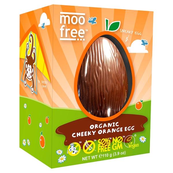 Moo Free Cheeky Orange Easter Egg