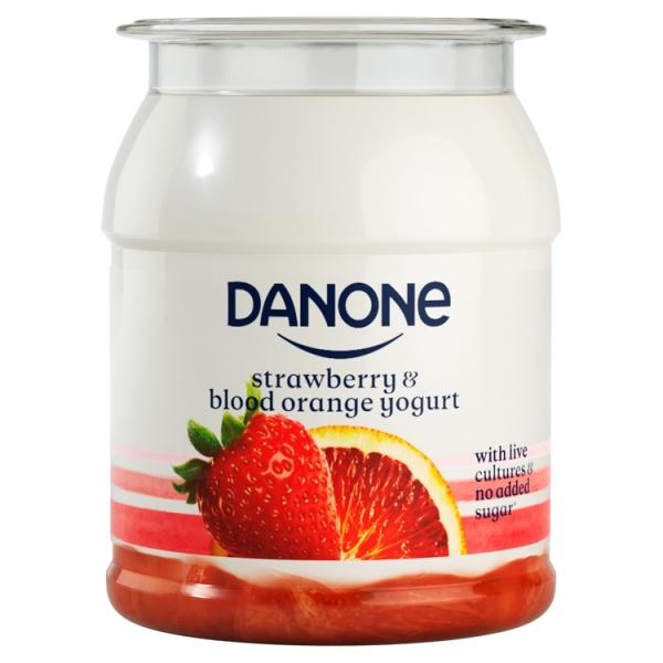 Danone Brand Singles Strawberry Blood Orange