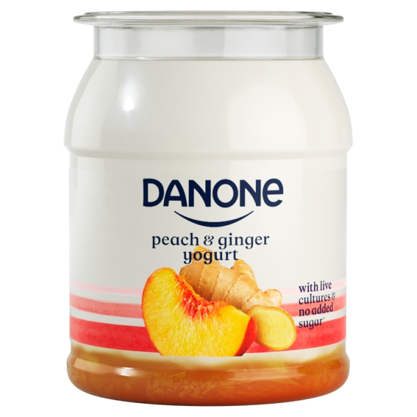 Danone Brand Singles Peach Ginger
