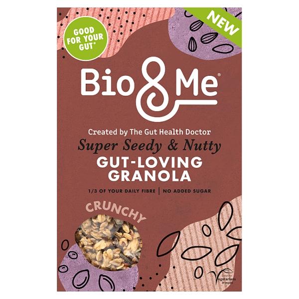Bio & NUTTY Super Seedy  Gut-loving Granola