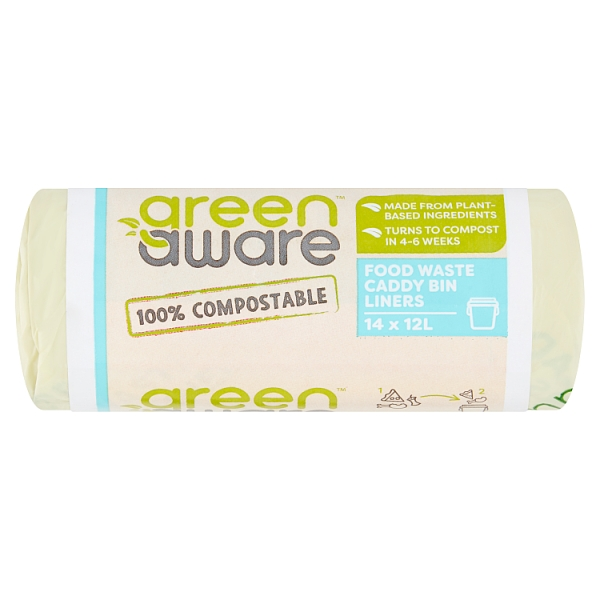 Kn 12ltr Compostable Bags