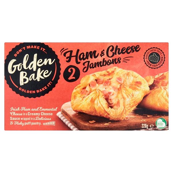 Golden Bake Ham & Cheese Jambon