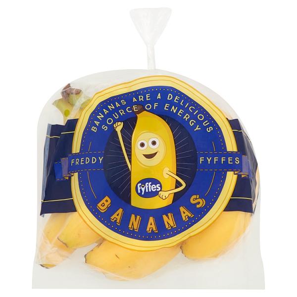 Freddie Fyffes Bananas Bag Prepacked