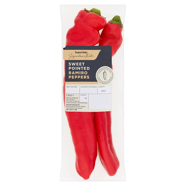 Signature Tastes Sweet Pointed Ramiro Peppers