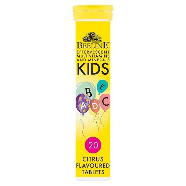 BeeLine Kids Multivitamins & Minerals Sugar Free Tablets
