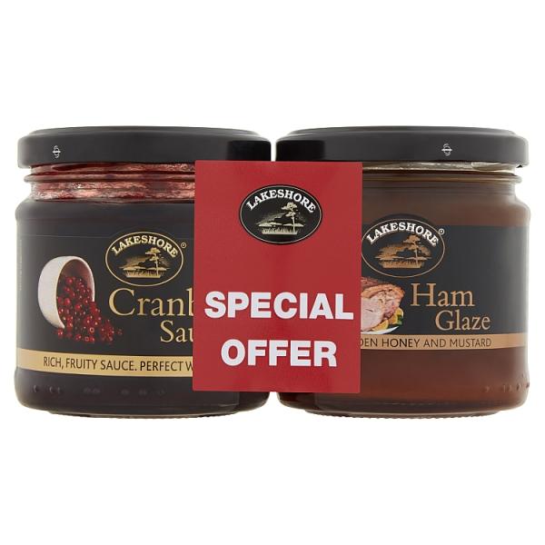 Lakeshore Ham Glaze & Cranberry Sauce Twin