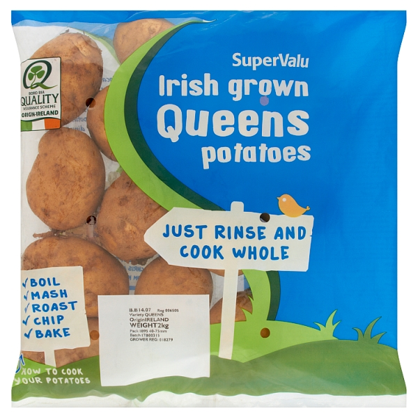 SuperValu Irish grown Queens Potatoes