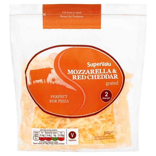 SuperValu Grated  Mozzarella & Red Cheddar