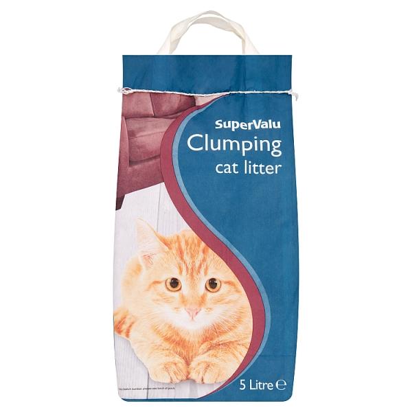 SuperValu Clumping Cat Litter
