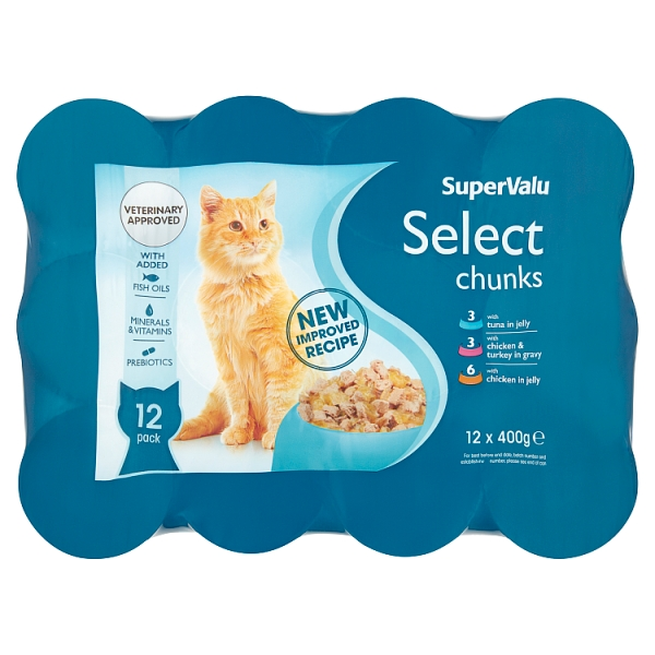SuperValu Select Chunks & Cuts 12 Pack