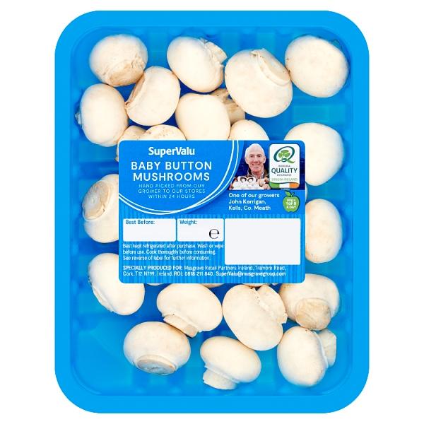 SuperValu Baby Button Mushrooms
