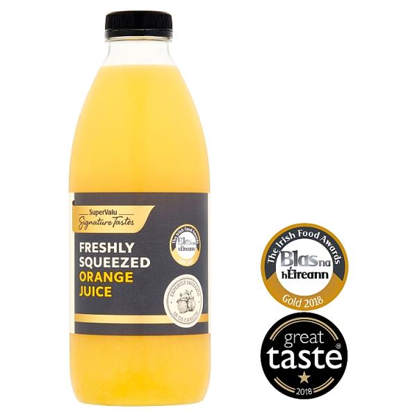 Signature Tastes Freshly Squeezed Orange Juice