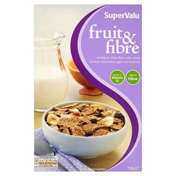 supervalu fruit fibre cereal. Black Bedroom Furniture Sets. Home Design Ideas