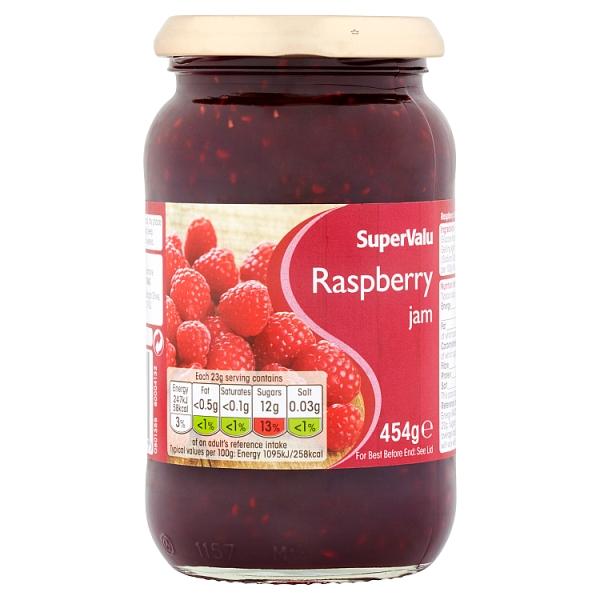 SuperValu Raspberry Jam (454 Grams)