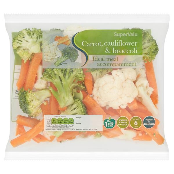 SuperValu Broccoli, Carrot Cauliflower Mix