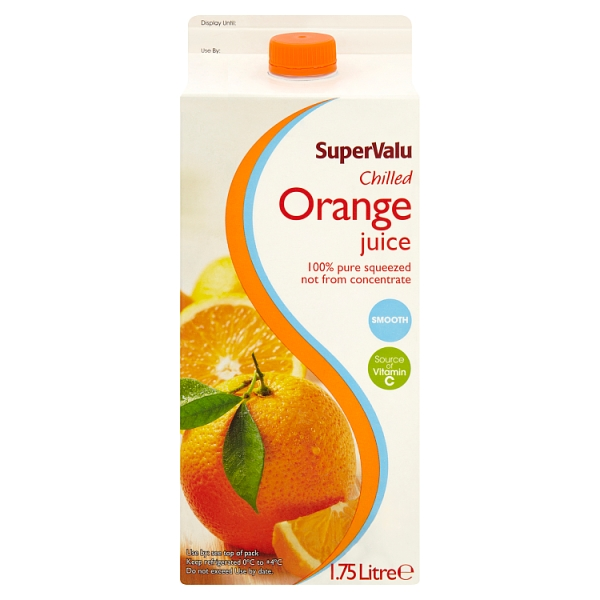 SuperValu Not From Concentrate Orange Juice Smooth