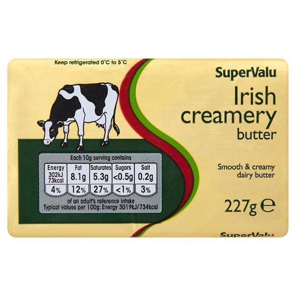 SuperValu Irish Creamery Butter