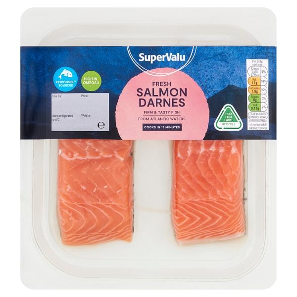 SuperValu Salmon Darnes x2